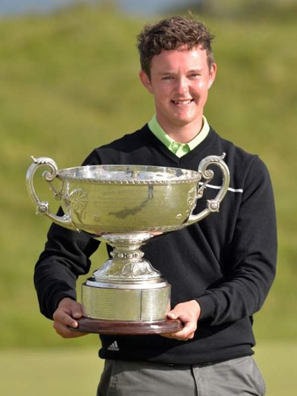 Irish Close Winner - John Ross Galbraith