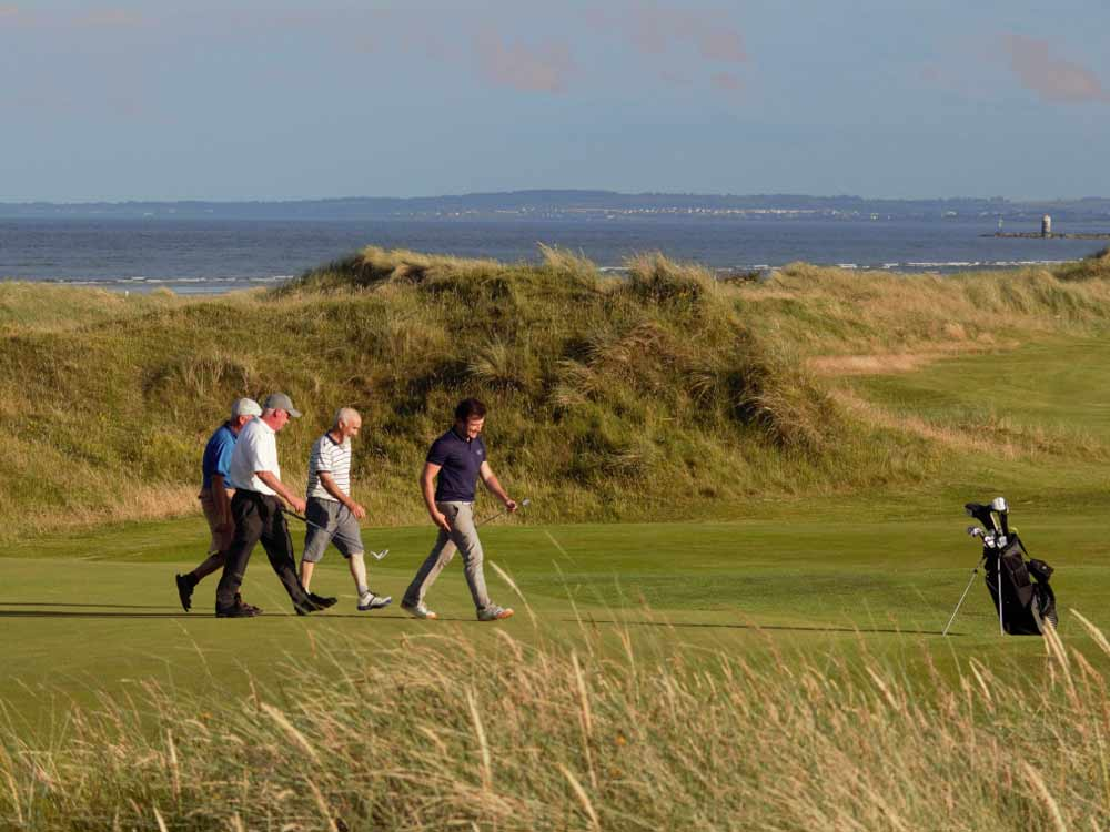 Golf Course Packages in Ireland - Seapoint Golf Links